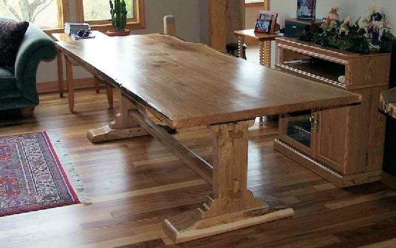Custom Hardwood Home Furnishings