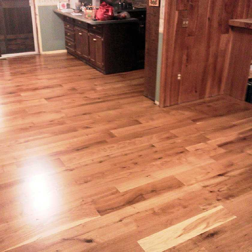 Custom Hardwood Oak Flooring