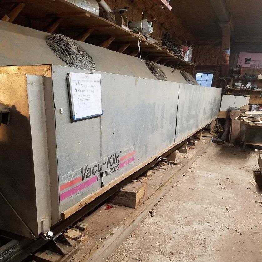 Express Vacuum Wood Kiln
