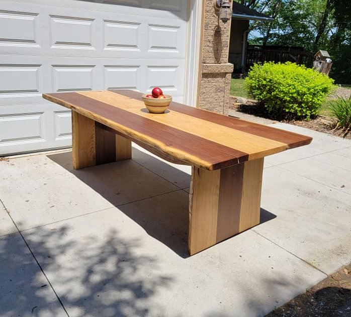 Live Edge Table Custom Table