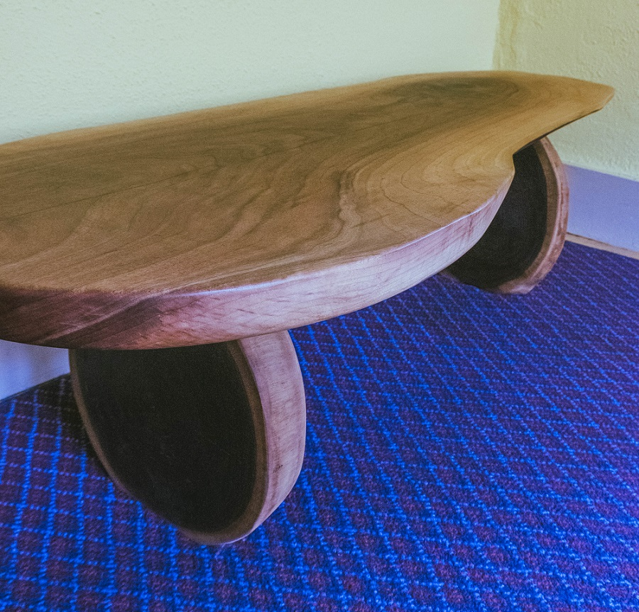 Beautiful End Grain Cookie Coffee Table